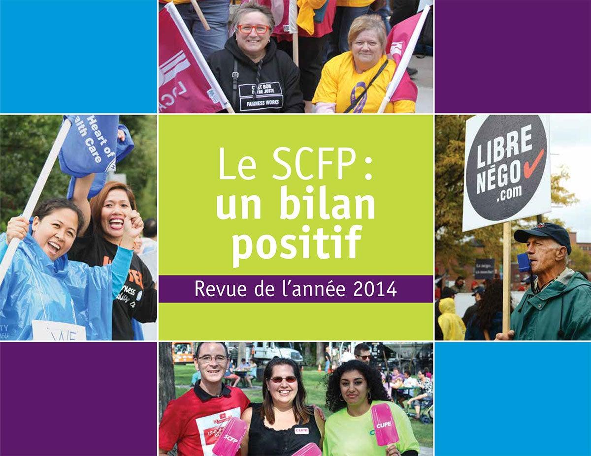 Le SCFP: un bilan positif - revue de l'année 2014