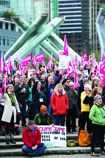Working for green jobs and climate justice – CUPE's 2015 environment highlights