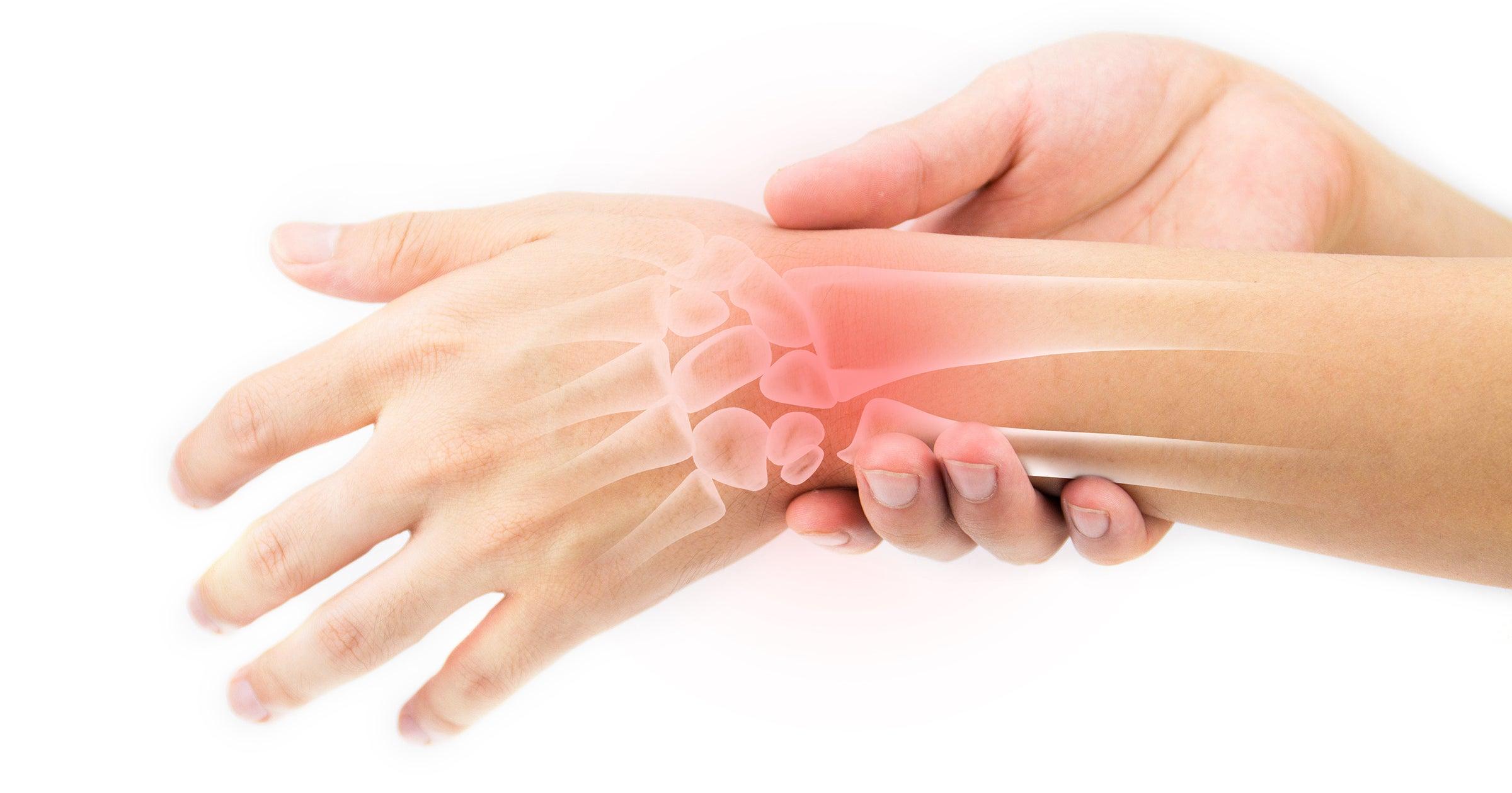 L sions attribuables au travail r p titif syndicat for Douleur interieur du pied