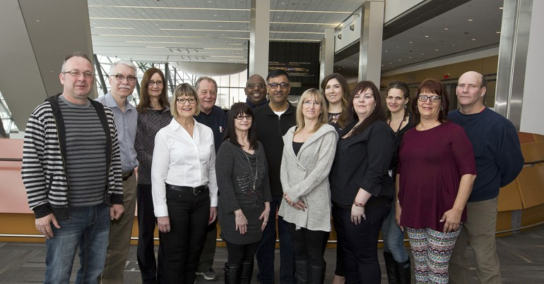 Group photo: National Literacy Working Group 2016
