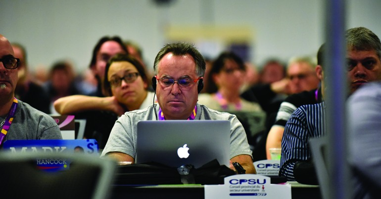 Connecting online – CUPE's 2015 digital highlights