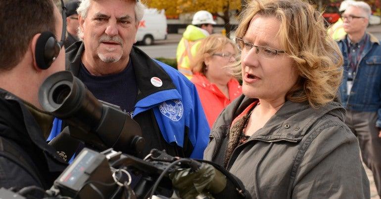 Doris Douglas, CUPE health and safety activist