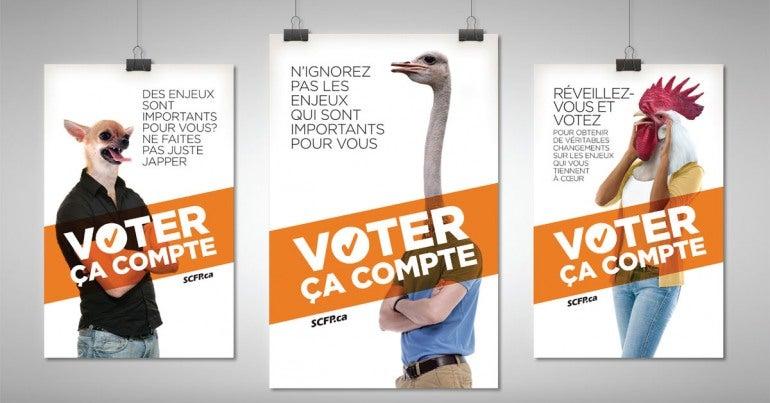 élection fédérale 2015 - commandez
