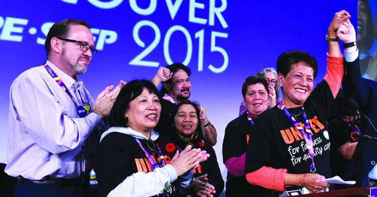 United for better public services – CUPE's 2015 organizing highlights