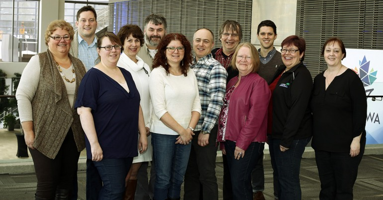 Group photo: National Post-Secondary Education Task Force 2016
