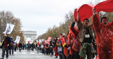 RED LINES MOBILIZATION AT COP21