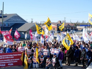 Take action - Support striking Covered Bridge Chips workers