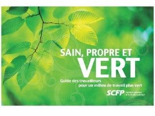 Guide environnemental du SCFP
